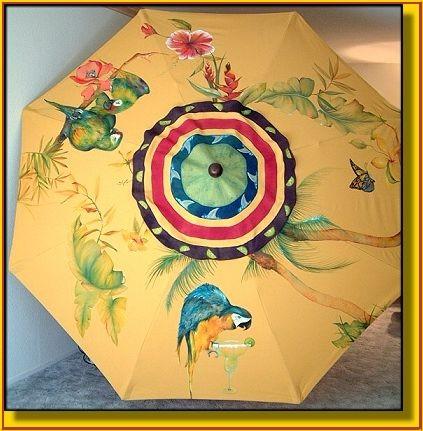 Outdoor patio furniture with umbrella - Margaritaville Twist Quot